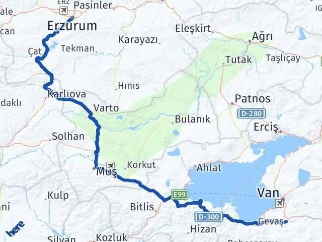 Erzurum Gürpınar Van Arası Kaç Km? - Kmhesaplama.com Arası Kaç Km Saat? Nerede Yol Haritası Yakıt, Rota ve Mesafe Hesaplama