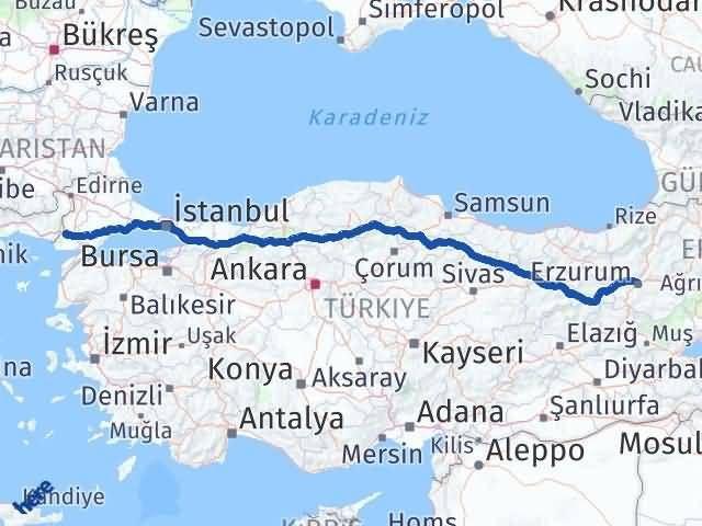 Erzurum İpsala Edirne Arası Kaç Km? - Kmhesaplama.com Arası Kaç Km Saat? Nerede Yol Haritası Yakıt, Rota ve Mesafe Hesaplama