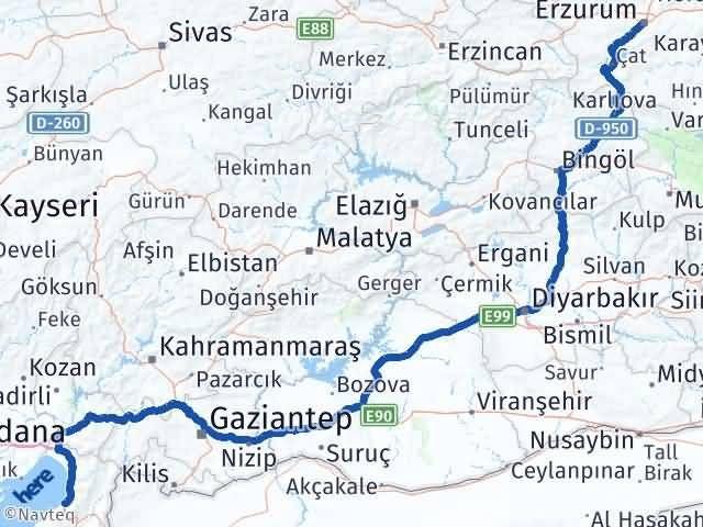 Erzurum İskenderun Hatay Arası Kaç Km? - Kmhesaplama.com Arası Kaç Km Saat? Nerede Yol Haritası Yakıt, Rota ve Mesafe Hesaplama