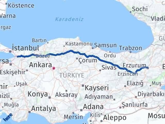 Erzurum Karamürsel Kocaeli Arası Kaç Km? - Kmhesaplama.com Arası Kaç Km Saat? Nerede Yol Haritası Yakıt, Rota ve Mesafe Hesaplama