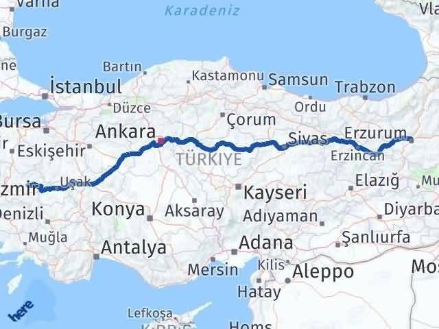 Erzurum Köprübaşı Manisa Arası Kaç Km? - Kmhesaplama.com Arası Kaç Km Saat? Nerede Yol Haritası Yakıt, Rota ve Mesafe Hesaplama