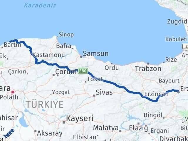 Erzurum Kurucaşile Bartın Arası Kaç Km? - Kmhesaplama.com Arası Kaç Km Saat? Nerede Yol Haritası Yakıt, Rota ve Mesafe Hesaplama