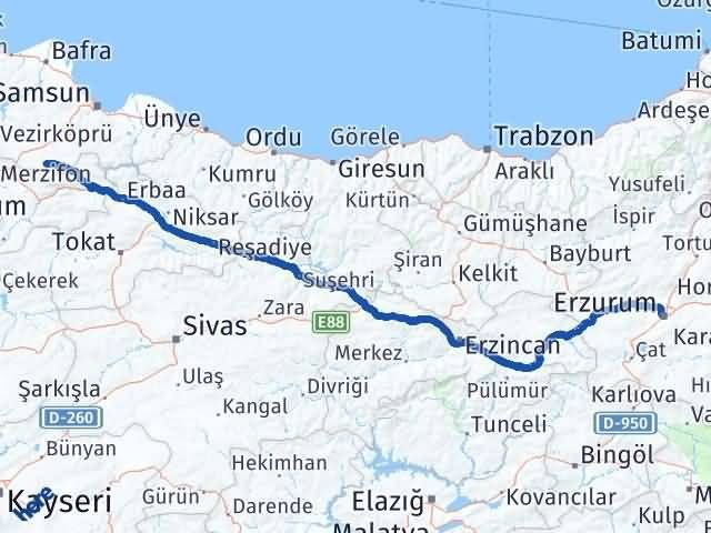 Erzurum Ladik Samsun Arası Kaç Km? - Kmhesaplama.com Arası Kaç Km Saat? Nerede Yol Haritası Yakıt, Rota ve Mesafe Hesaplama