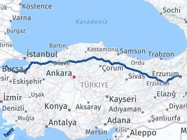 Erzurum Marmara Balıkesir Arası Kaç Km? - Kmhesaplama.com Arası Kaç Km Saat? Nerede Yol Haritası Yakıt, Rota ve Mesafe Hesaplama