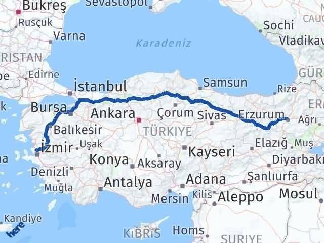 Erzurum Menemen İzmir Arası Kaç Km? - Kmhesaplama.com Arası Kaç Km Saat? Nerede Yol Haritası Yakıt, Rota ve Mesafe Hesaplama