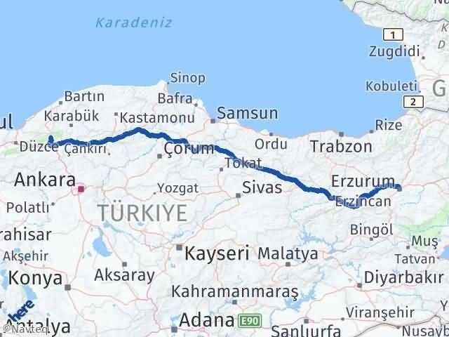 Erzurum Mengen Bolu Arası Kaç Km? - Kmhesaplama.com Arası Kaç Km Saat? Nerede Yol Haritası Yakıt, Rota ve Mesafe Hesaplama
