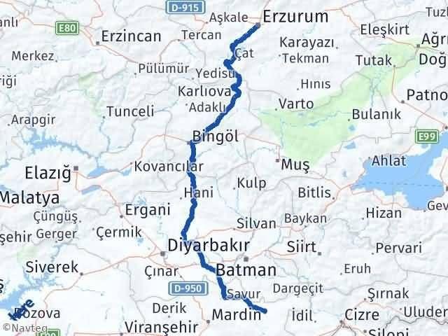 Erzurum Midyat Mardin Arası Kaç Km? - Kmhesaplama.com Arası Kaç Km Saat? Nerede Yol Haritası Yakıt, Rota ve Mesafe Hesaplama