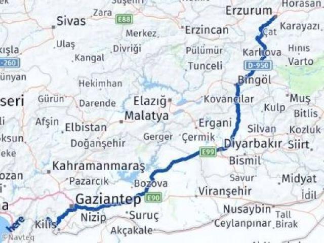 Erzurum Musabeyli Kilis Arası Kaç Km? - Kmhesaplama.com Arası Kaç Km Saat? Nerede Yol Haritası Yakıt, Rota ve Mesafe Hesaplama