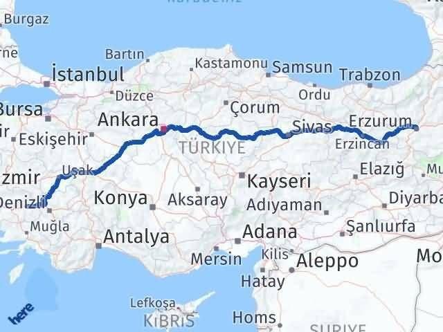 Erzurum Nazilli Aydın Arası Kaç Km? - Kmhesaplama.com Arası Kaç Km Saat? Nerede Yol Haritası Yakıt, Rota ve Mesafe Hesaplama
