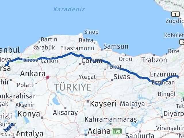 Erzurum Pamukova Sakarya Arası Kaç Km? - Kmhesaplama.com Arası Kaç Km Saat? Nerede Yol Haritası Yakıt, Rota ve Mesafe Hesaplama