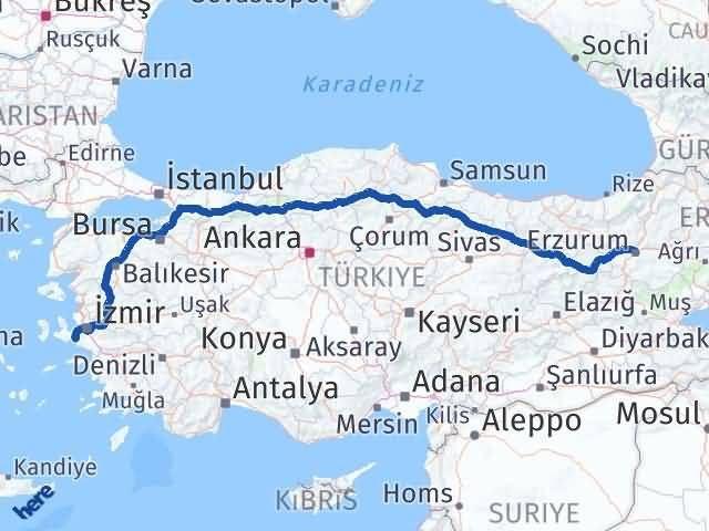 Erzurum Seferihisar İzmir Arası Kaç Km? - Kmhesaplama.com Arası Kaç Km Saat? Nerede Yol Haritası Yakıt, Rota ve Mesafe Hesaplama