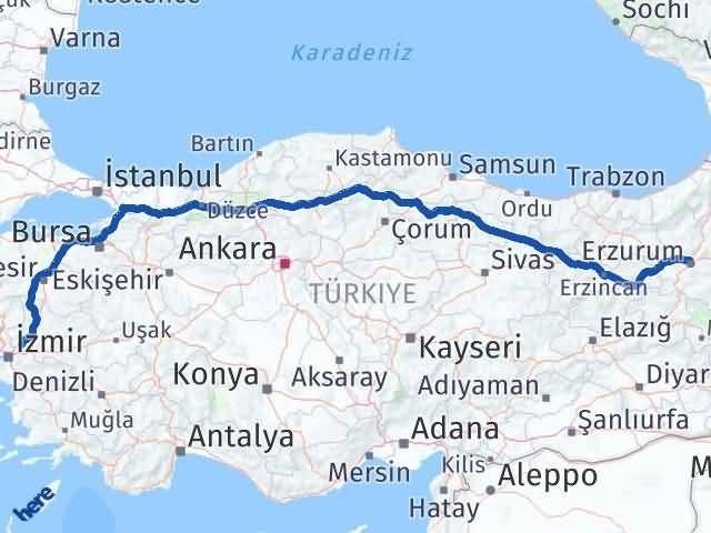 Erzurum Şehzadeler Manisa Arası Kaç Km? - Kmhesaplama.com Arası Kaç Km Saat? Nerede Yol Haritası Yakıt, Rota ve Mesafe Hesaplama