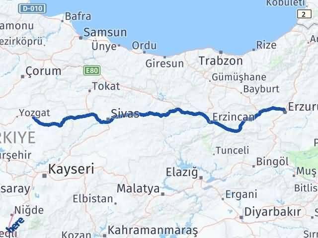 Erzurum Sorgun Yozgat Arası Kaç Km? - Kmhesaplama.com Arası Kaç Km Saat? Nerede Yol Haritası Yakıt, Rota ve Mesafe Hesaplama
