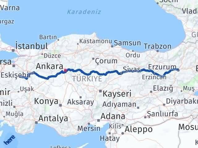 Erzurum Tavşanlı Kütahya Arası Kaç Km? - Kmhesaplama.com Arası Kaç Km Saat? Nerede Yol Haritası Yakıt, Rota ve Mesafe Hesaplama