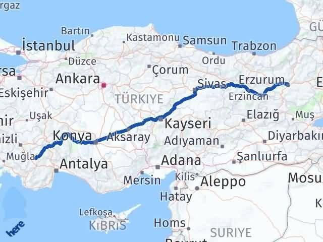 Erzurum Tefenni Burdur Arası Kaç Km? - Kmhesaplama.com Arası Kaç Km Saat? Nerede Yol Haritası Yakıt, Rota ve Mesafe Hesaplama