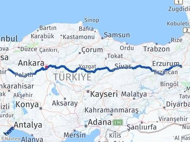 Erzurum Tepebaşı Eskişehir Arası Kaç Km? - Kmhesaplama.com Arası Kaç Km Saat? Nerede Yol Haritası Yakıt, Rota ve Mesafe Hesaplama