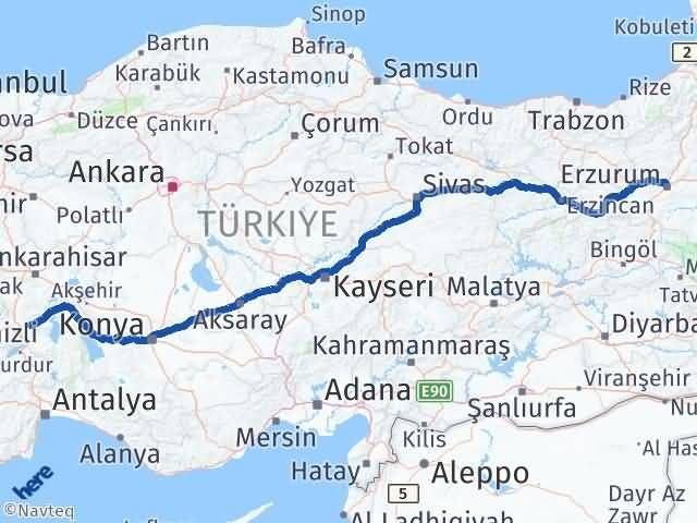 Erzurum Uluborlu Isparta Arası Kaç Km? - Kmhesaplama.com Arası Kaç Km Saat? Nerede Yol Haritası Yakıt, Rota ve Mesafe Hesaplama