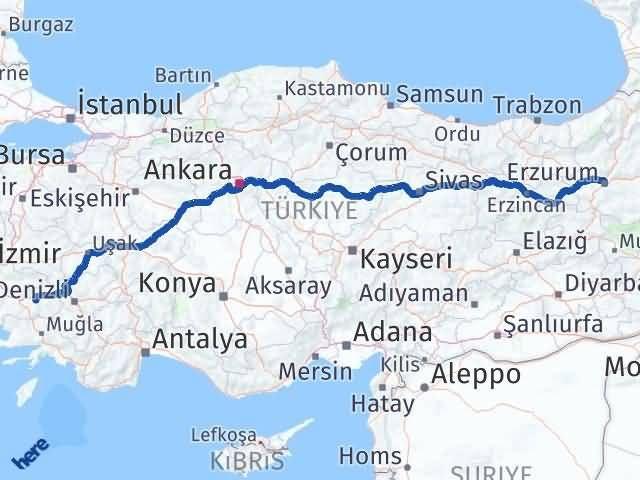 Erzurum Yenipazar Aydın Arası Kaç Km? - Kmhesaplama.com Arası Kaç Km Saat? Nerede Yol Haritası Yakıt, Rota ve Mesafe Hesaplama