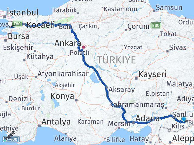 Gaziantep Nizip Yalova Arası Kaç Km? Arası Kaç Km Saat? Nerede Yol Haritası Yakıt, Rota ve Mesafe Hesaplama
