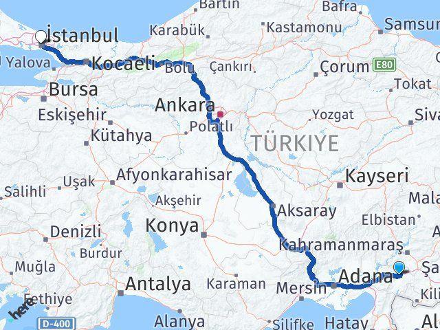 Gaziantep Nurdağı İstanbul Arası Kaç Km? Arası Kaç Km Saat? Nerede Yol Haritası Yakıt, Rota ve Mesafe Hesaplama