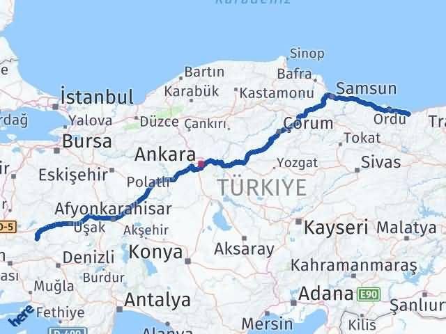 Giresun Alaşehir Manisa Arası Kaç Km? - Kmhesaplama.com Arası Kaç Km Saat? Nerede Yol Haritası Yakıt, Rota ve Mesafe Hesaplama