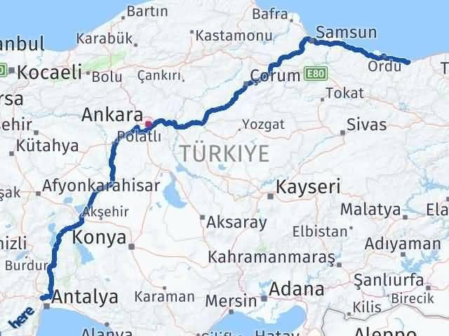Giresun Döşemealtı Antalya Arası Kaç Km? - Kmhesaplama.com Arası Kaç Km Saat? Nerede Yol Haritası Yakıt, Rota ve Mesafe Hesaplama