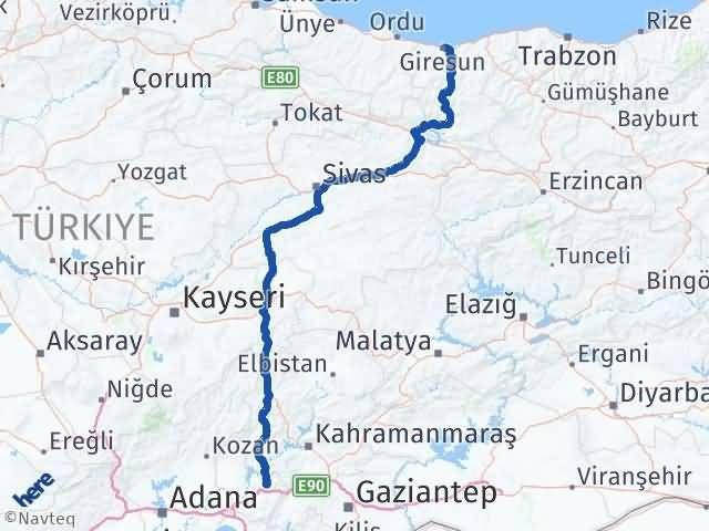 Giresun Düziçi Osmaniye Arası Kaç Km? - Kmhesaplama.com Arası Kaç Km Saat? Nerede Yol Haritası Yakıt, Rota ve Mesafe Hesaplama