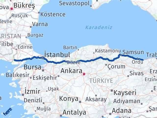 Giresun İpsala Edirne Arası Kaç Km? - Kmhesaplama.com Arası Kaç Km Saat? Nerede Yol Haritası Yakıt, Rota ve Mesafe Hesaplama