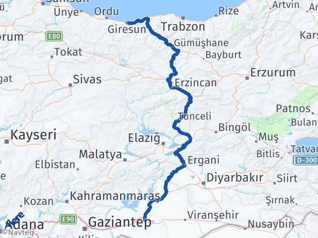 Giresun Karaköprü Şanlıurfa Arası Kaç Km? - Kmhesaplama.com Arası Kaç Km Saat? Nerede Yol Haritası Yakıt, Rota ve Mesafe Hesaplama