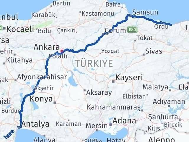 Giresun Kepez Antalya Arası Kaç Km? - Kmhesaplama.com Arası Kaç Km Saat? Nerede Yol Haritası Yakıt, Rota ve Mesafe Hesaplama