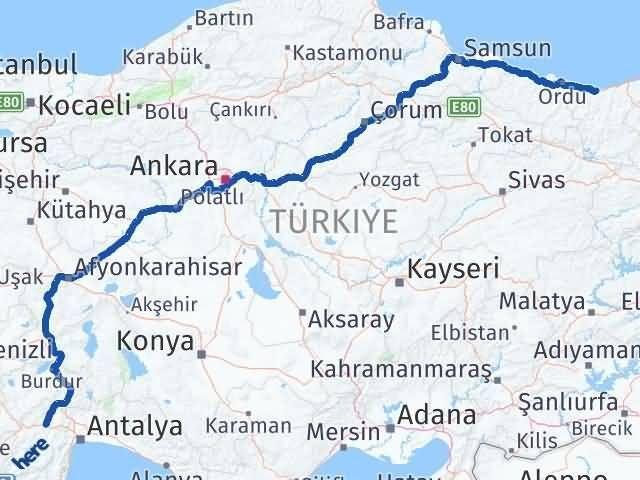 Giresun Korkuteli Antalya Arası Kaç Km? - Kmhesaplama.com Arası Kaç Km Saat? Nerede Yol Haritası Yakıt, Rota ve Mesafe Hesaplama