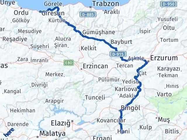 Giresun Lice Diyarbakır Arası Kaç Km? - Kmhesaplama.com Arası Kaç Km Saat? Nerede Yol Haritası Yakıt, Rota ve Mesafe Hesaplama