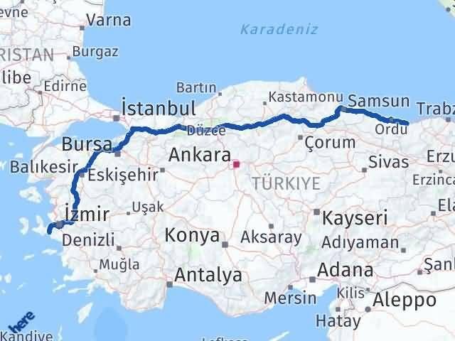 Giresun Seferihisar İzmir Arası Kaç Km? - Kmhesaplama.com Arası Kaç Km Saat? Nerede Yol Haritası Yakıt, Rota ve Mesafe Hesaplama