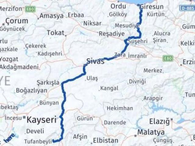 Giresun Tufanbeyli Adana Arası Kaç Km? - Kmhesaplama.com Arası Kaç Km Saat? Nerede Yol Haritası Yakıt, Rota ve Mesafe Hesaplama