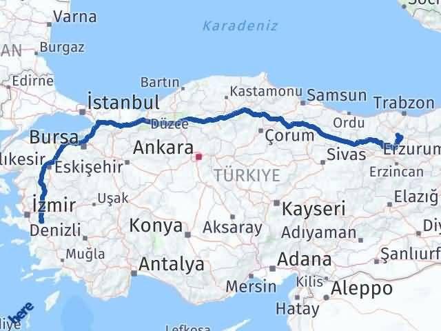 Gümüşhane Bayındır İzmir Arası Kaç Km? - Kmhesaplama.com Arası Kaç Km Saat? Nerede Yol Haritası Yakıt, Rota ve Mesafe Hesaplama