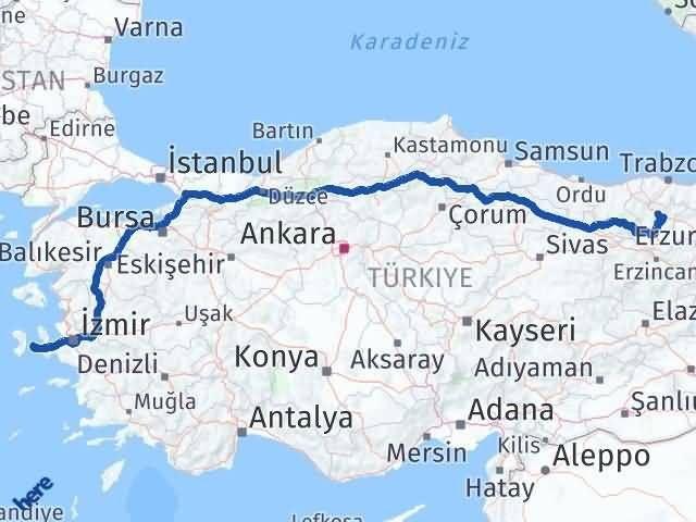 Gümüşhane Çeşme İzmir Arası Kaç Km? - Kmhesaplama.com Arası Kaç Km Saat? Nerede Yol Haritası Yakıt, Rota ve Mesafe Hesaplama