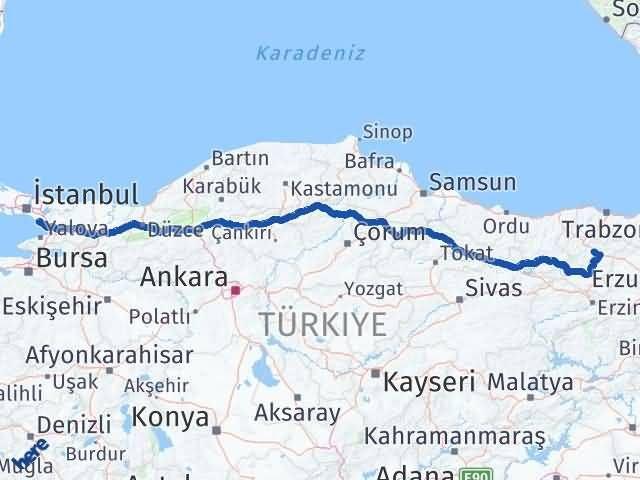 Gümüşhane Pendik İstanbul Arası Kaç Km? - Kmhesaplama.com Arası Kaç Km Saat? Nerede Yol Haritası Yakıt, Rota ve Mesafe Hesaplama