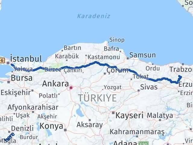 Gümüşhane Sancaktepe İstanbul Arası Kaç Km? Arası Kaç Km Saat? Nerede Yol Haritası Yakıt, Rota ve Mesafe Hesaplama