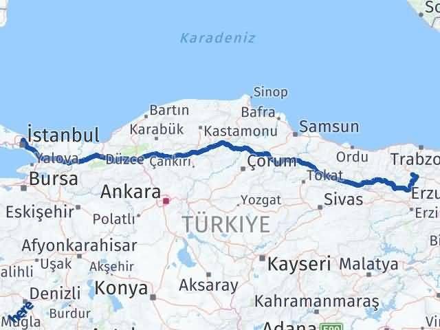 Gümüşhane Sarıyer İstanbul Arası Kaç Km? - Kmhesaplama.com Arası Kaç Km Saat? Nerede Yol Haritası Yakıt, Rota ve Mesafe Hesaplama