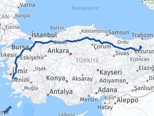 Gümüşhane Tire İzmir Arası Kaç Km? - Kmhesaplama.com Arası Kaç Km Saat? Nerede Yol Haritası Yakıt, Rota ve Mesafe Hesaplama