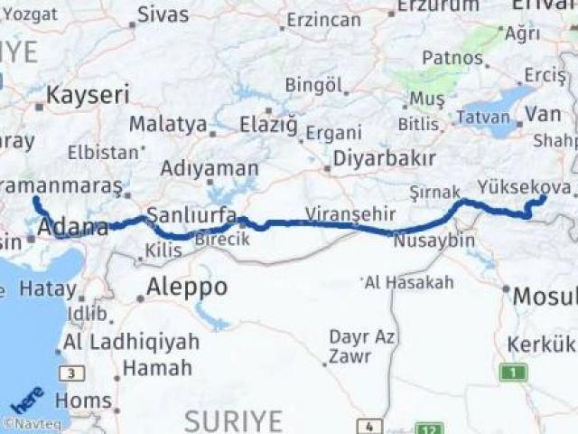 Hakkari Aladağ Adana Arası Kaç Km? - Kmhesaplama.com Arası Kaç Km Saat? Nerede Yol Haritası Yakıt, Rota ve Mesafe Hesaplama