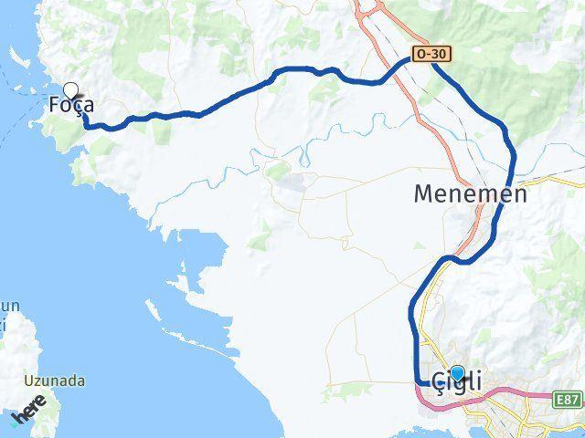 İzmir Çiğli Foça Arası Kaç Km? Kaç Saat? - Kmhesaplama.com Arası Kaç Km Saat? Nerede Yol Haritası Yakıt, Rota ve Mesafe Hesaplama