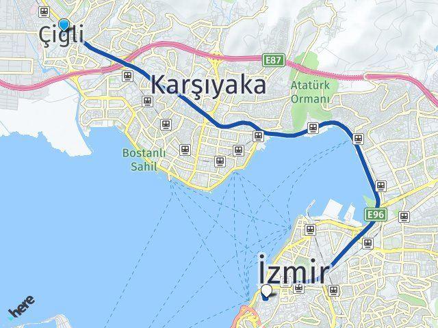 İzmir Çiğli Konak Arası Kaç Km? Kaç Saat? - Kmhesaplama.com Arası Kaç Km Saat? Nerede Yol Haritası Yakıt, Rota ve Mesafe Hesaplama