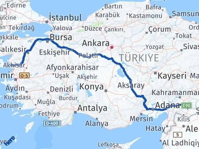 İzmir Dikili   Gaziantep Arası Kaç Km? Arası Kaç Km Saat? Nerede Yol Haritası Yakıt, Rota ve Mesafe Hesaplama