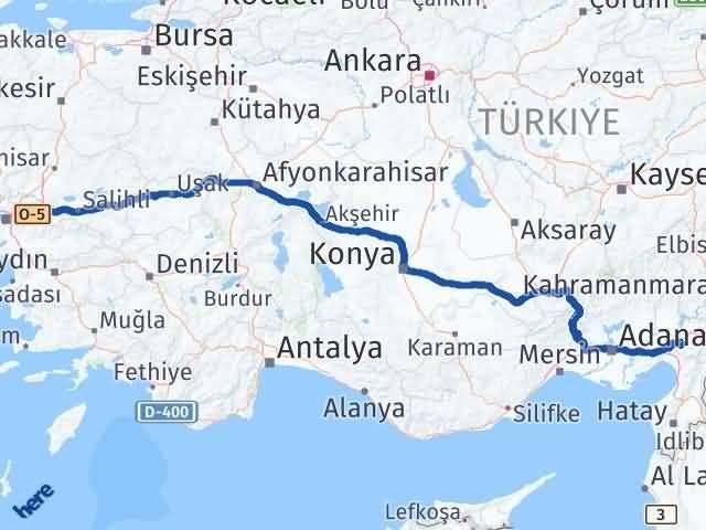 İzmir Kemalpaşa   Osmaniye Arası Kaç Km? Arası Kaç Km Saat? Nerede Yol Haritası Yakıt, Rota ve Mesafe Hesaplama