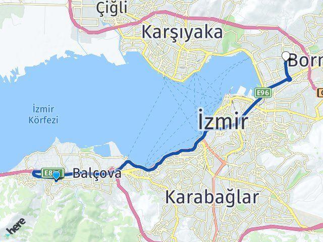 İzmir Narlıdere Bayraklı Arası Kaç Km? Arası Kaç Km Saat? Nerede Yol Haritası Yakıt, Rota ve Mesafe Hesaplama