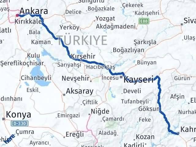 Maraş Altındağ Ankara Arası Kaç Km? - Kmhesaplama.com Arası Kaç Km Saat? Nerede Yol Haritası Yakıt, Rota ve Mesafe Hesaplama