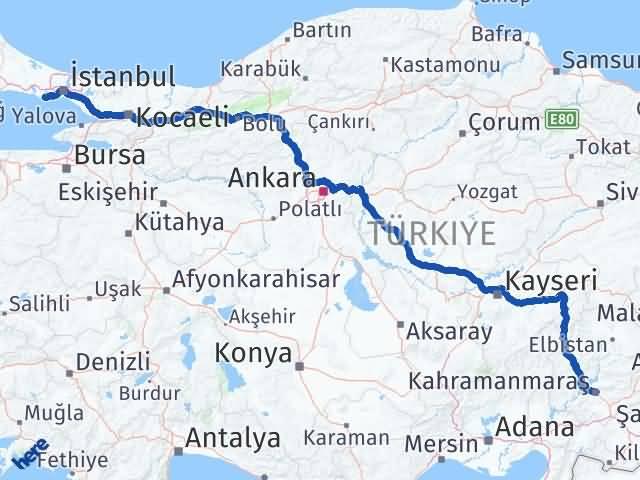 Maraş Avcılar İstanbul Arası Kaç Km? - Kmhesaplama.com Arası Kaç Km Saat? Nerede Yol Haritası Yakıt, Rota ve Mesafe Hesaplama