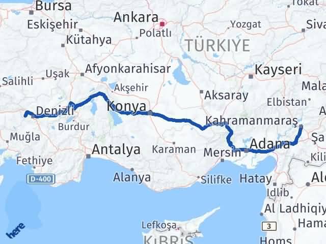 Maraş Babadağ Denizli Arası Kaç Km? - Kmhesaplama.com Arası Kaç Km Saat? Nerede Yol Haritası Yakıt, Rota ve Mesafe Hesaplama