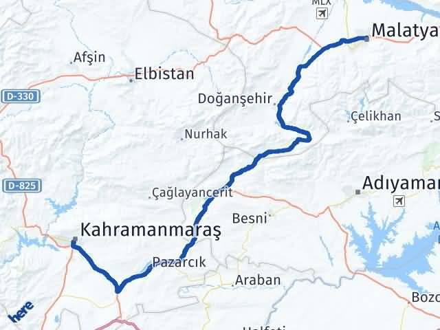 Maraş Battalgazi Malatya Arası Kaç Km? - Kmhesaplama.com Arası Kaç Km Saat? Nerede Yol Haritası Yakıt, Rota ve Mesafe Hesaplama